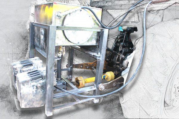 تانک روغن و پمپ هیدرولیک برای تراکتور