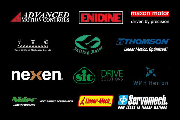 nexen, SIT, Maxon motor, AMC, EnidineT Thomson