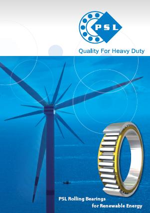 بلبرینگ PSL برای انرژی های تجدید پذیر
