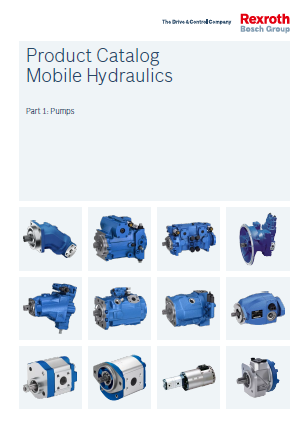 Product Catalogs Mobile Hydraulics Part 1 Pumps re90010-01