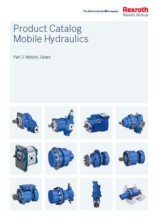 Product Catalogs Mobile Hydraulics Part 2 Motors, Gears RE90010-02_2016-07