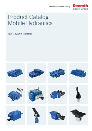 Product Catalogs Mobile Hydraulics Part 3 Mobile Controls re90010-03