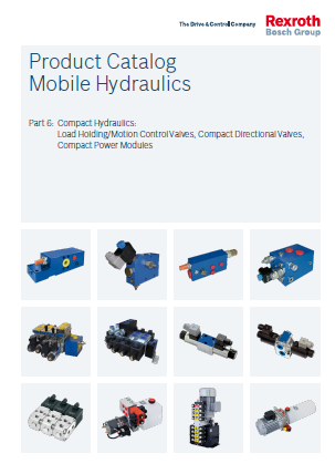 Product Catalogs Mobile Hydraulics Part 6 Compact Hydraulics RE90010-06_2016-07
