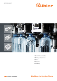 اسلیپ رینگ کوبلر برای کارخانه بطری سازی / پرکنی