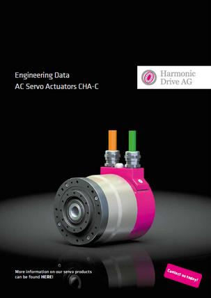 CHA-C Servo actuator with hollow shaft
