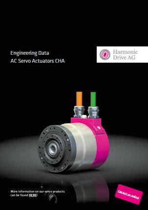 AC Servo Actuators CHA