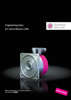 CHM Servo motor with hollow shaft