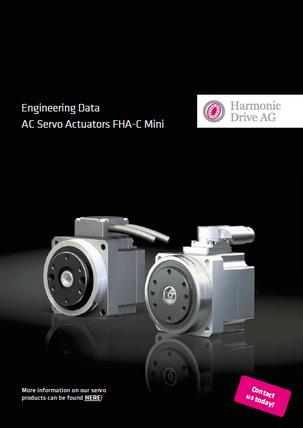 FHA-C Mini MZE Mini servo actuator