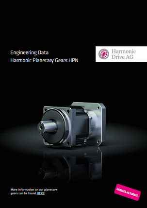 Planetary gears HPN