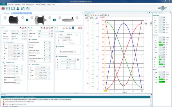 نرم افزار انتخاب و محاسبه گیربکس خورشیدی